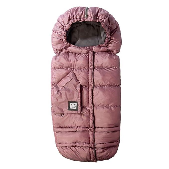 Warm Baby Blanket Baby Sleeping Bag Footmuff Fleece Lining Born Swadding Wrap Beige Youngy Baby Sleeping Bag
