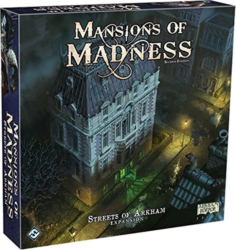 Fantasy Flight Games Mansions of Madness: Streets of Arkham Strategy Board Games by Fantasy Flight Games