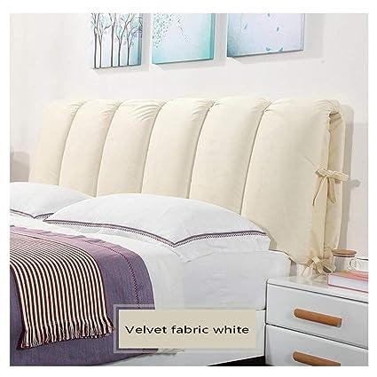 best website 2787d 08d9e Amazon.com : HTY Detachable Velvet Bed Head Cushion ...