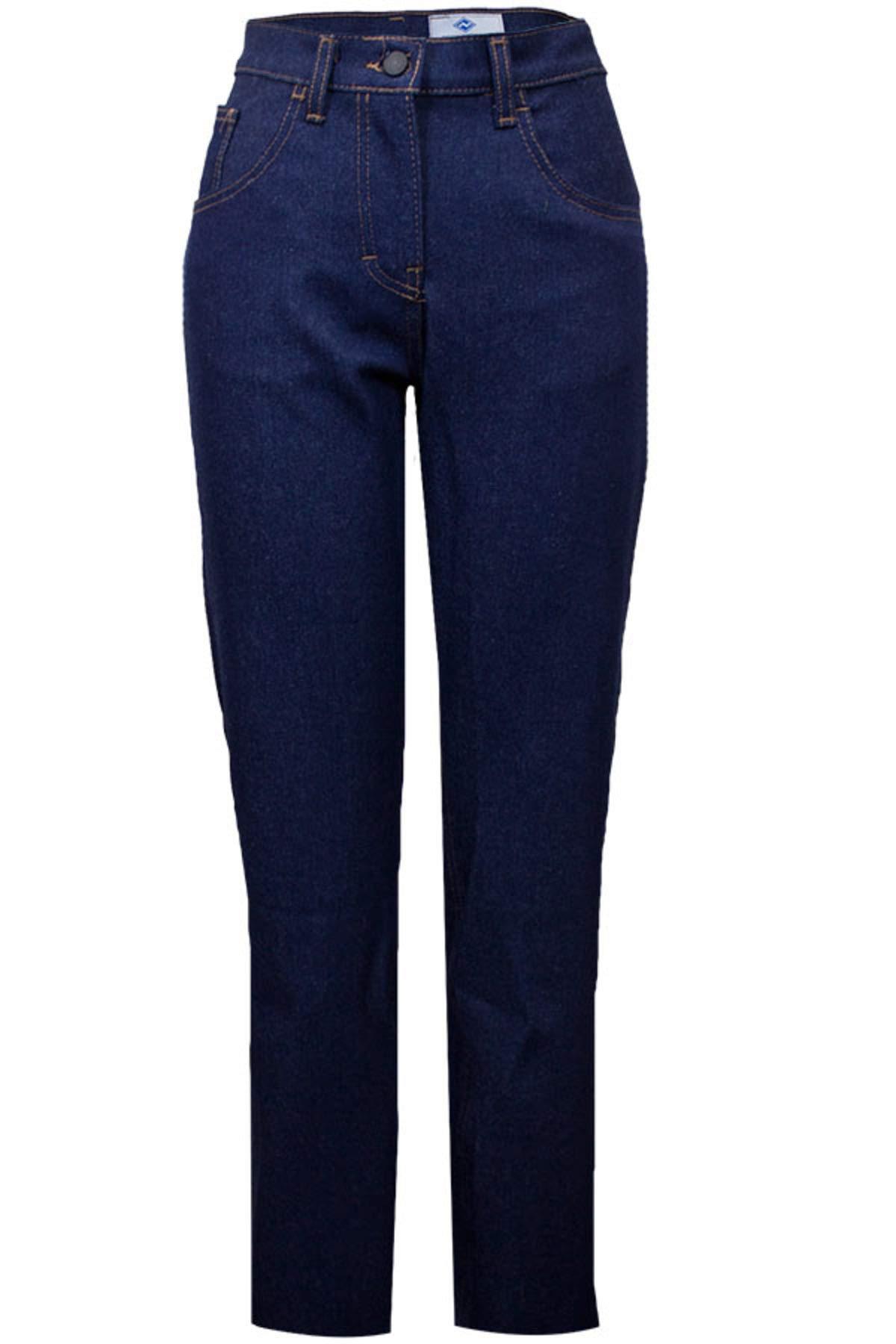 National Safety Apparel PNTDYJW2X32 Women's Flame Resistant Jean, 2'' x 32'', Denim Blue