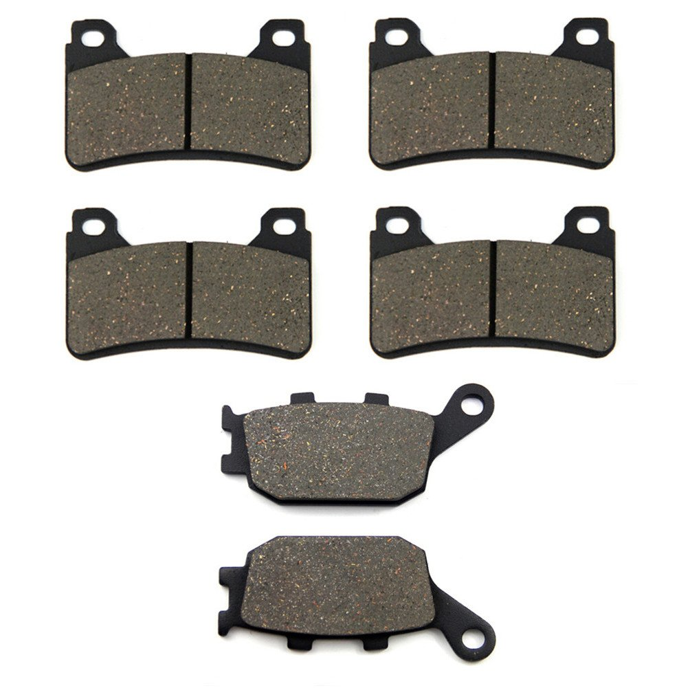SOMMET Pastillas de freno Delanteras + Traseras para Honda CBR 600 RR (05-06) CBR 1000 RR(04-05) LT390-390-174