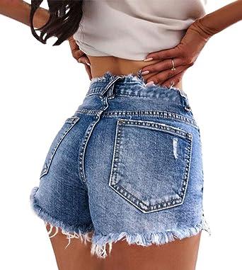 Haut Femme Superdry Denim Hot Shorts
