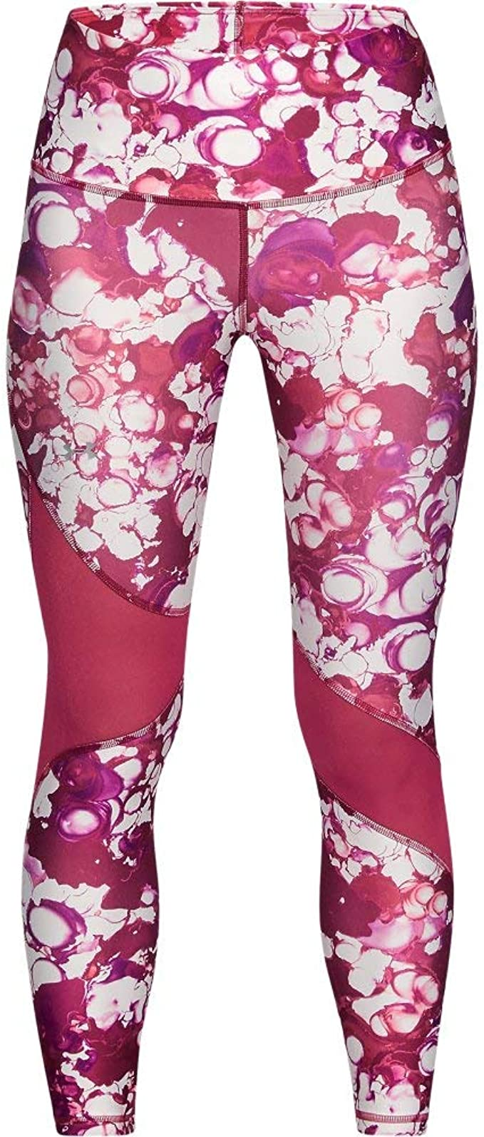 Calzoni alla Pescatora Bambina Armour HeatGear Printed Ankle Crop Under Armour