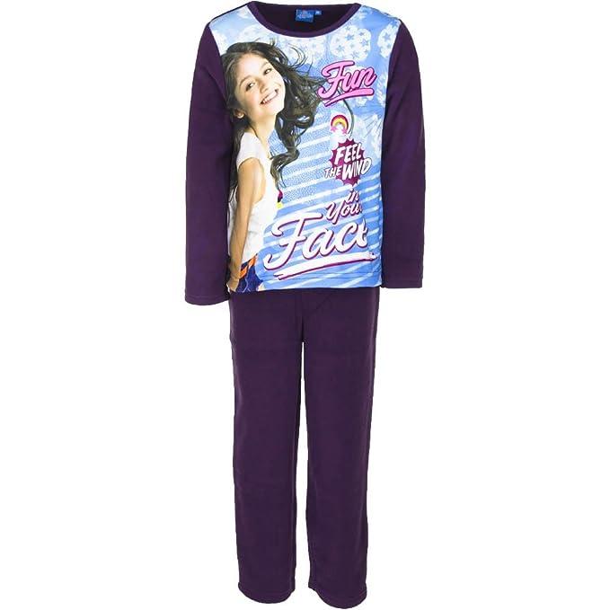 Soy Luna - Pijama - para niña violeta 12 años