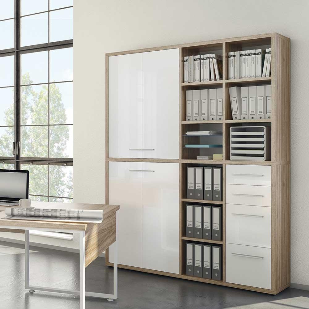 Schrankwand kaufen trendy wunderbar wohnwande braun weis for Wunderbar braun wohnzimmer
