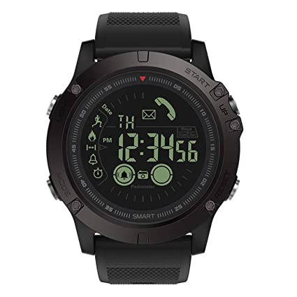 T1 Tact Military Grade Super Tough Smart Watch Outdoor Sports Talking Watch Mens Digital Sports Watch Waterproof Outdoor Pedometer Calorie Counter ...