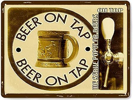 Bar Cartel Cerveza jardín Vintage Estilo Antiguo Retro decoración de la Pared Pub/Mancave 081