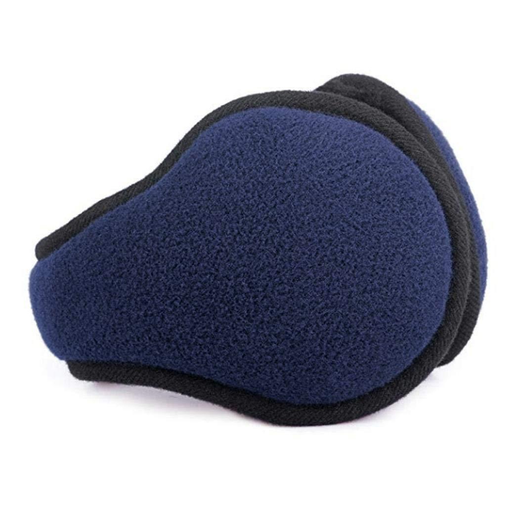 Ankidz Men Fashion Winter Foldable Solid Thicken Ear Warmer Earmuffs Earmuffs