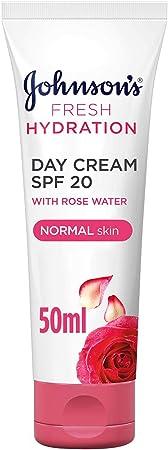 JOHNSON'S Day Cream - Fresh Hydration, SPF20, Normal Skin, 50ml