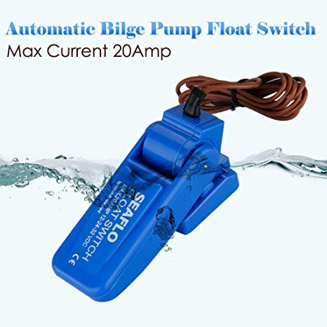 Interruptor Automático Azul Bomba de achique automática