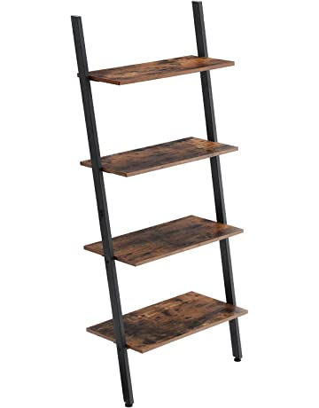 Brilliant Ladder Bookcases Amazon Com Beutiful Home Inspiration Truamahrainfo
