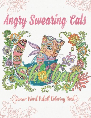 Download Angry Swearing Cats Creative Sweary Coloring