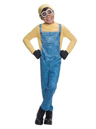 Minions Halloween Costume.Amazon Com Minions Boys Minion Bob Dress Up Outfit Halloween
