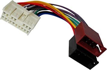 Adaptateur faisceau c/âble fiche ISO pour autoradio dorigine pour auto voiture AERZETIX