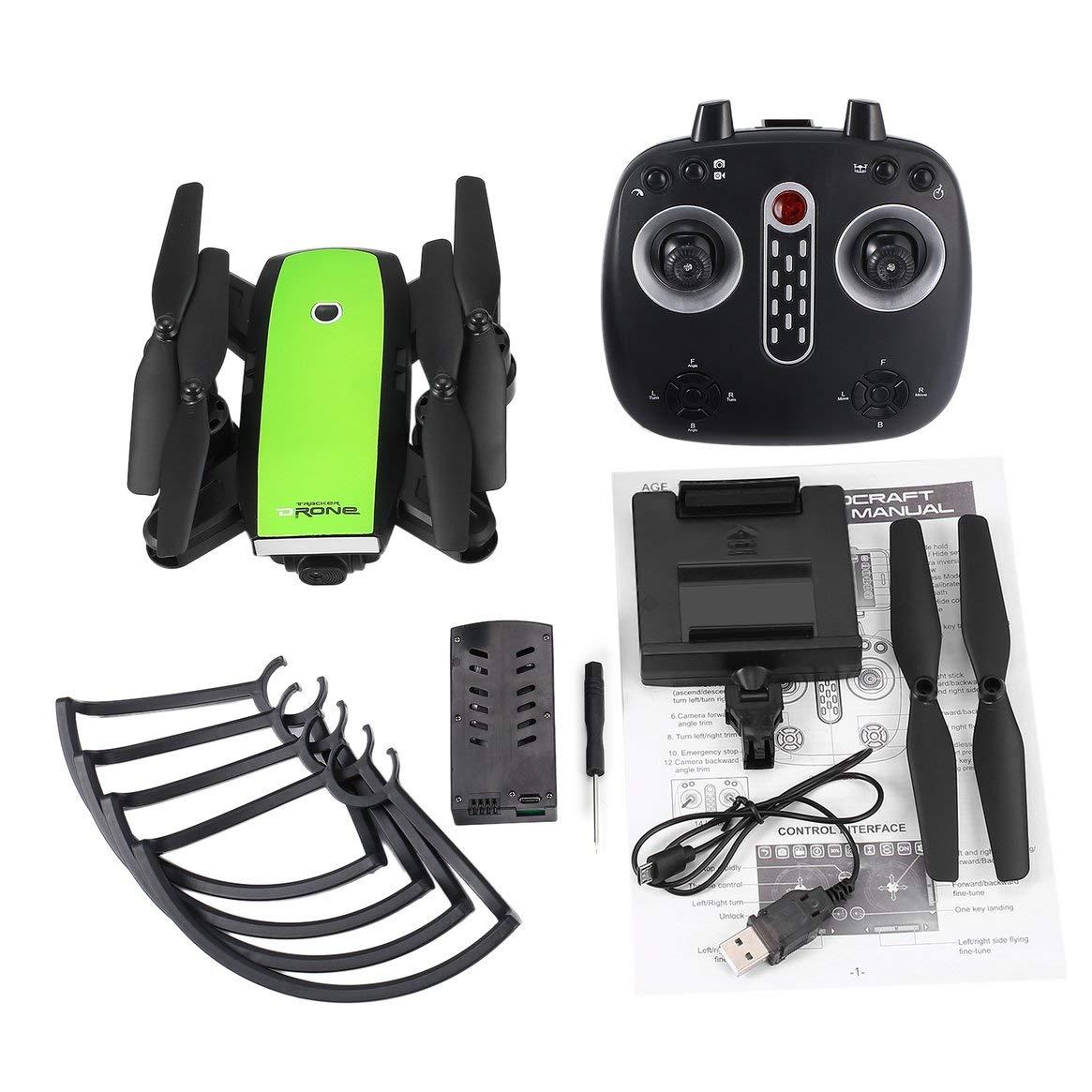 Delicacydex X28 2,4G FPV Faltbare Drohne Smart RC Quadcopter mit Einstellbare WiFi Kamera Echtzeit Höhe Halten Headless Modus