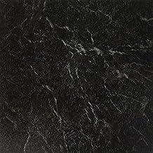 Achim Home Furnishings FTVMA40920 Nexus 12-Inch Vinyl Tile, Marble Black with White Vein, 20-Pack by Achim Home Furnishings