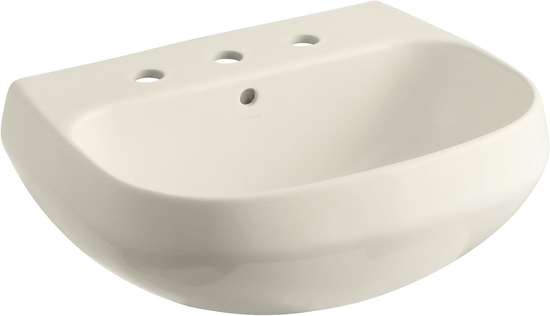 Kohler K 2296 8 47 Wellworth Bathroom Sink Basin With 8 Centers Almond Kitchen Bath Fixtures Tools Home Improvement Fcteutonia05 De