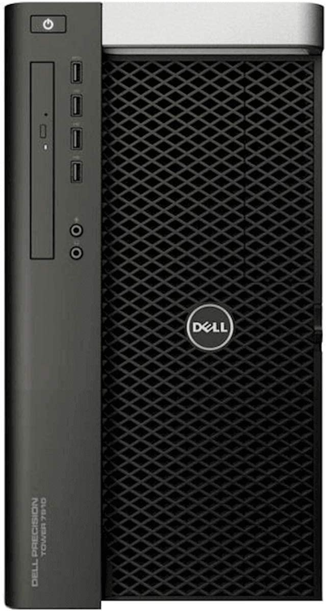 Dell Precision T7910 Mid-Tower Workstation - 2X Intel Xeon E5-2695 v4 2.1GHz 18 Core Processors, 128GB DDR4 Memory, 512GB NVMe SSD, 4TB HDD, Nvidia Quadro K2200, Windows 10 Pro. (Renewed)