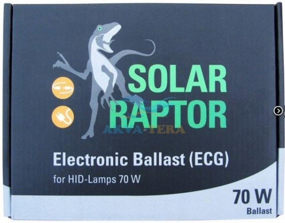 Econ Lux ELEKTR. SolarRaptor Ballast pour Lampes 70W HID Euro Version 230V Econlux VP8122