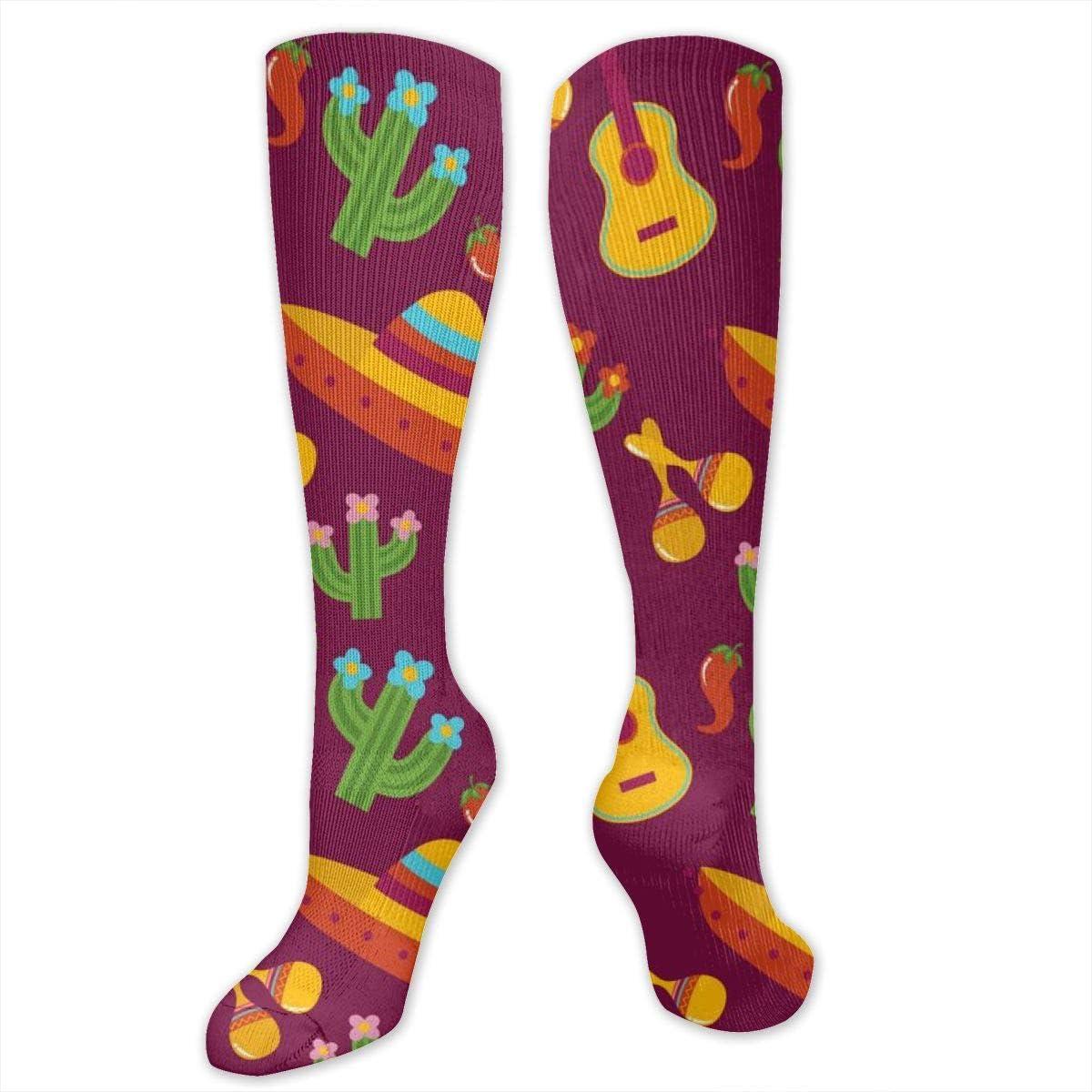 Chanwazibibiliu African Motifs Mens Colorful Dress Socks Funky Men Multicolored Pattern Fashionable Fun Crew Cotton Socks