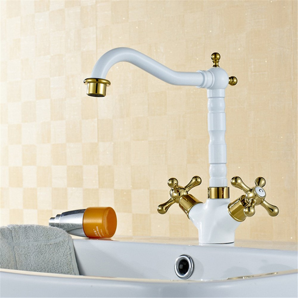 MIAORUI Copper kitchen faucet sanitary basin water faucet