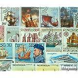 Motives 50 différents Navires et bateaux marches (Timbres pour les collectionneurs)