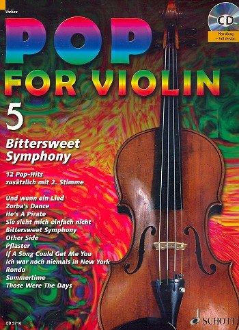Pop for Violin banda 5 Incluye CD - 12 divertido Canciones de red ...