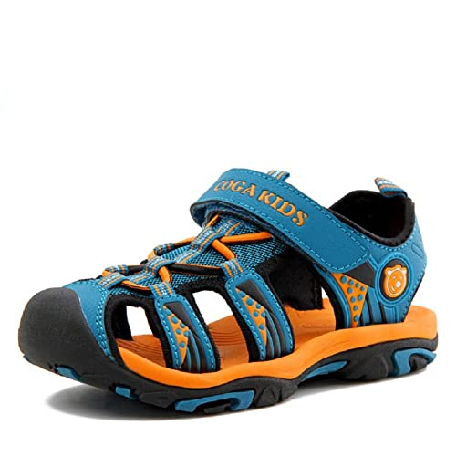Boutique en ligne 34d41 3d915 Sandalias Cerradas Velcro Niño Zapatillas Verano Zapatos Niña Deportivas  Senderismo Trekking Playa Agua Unisex