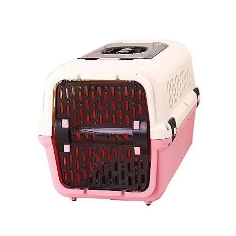 Caja de aire para mascotas, jaula para perros Caja para gatos con tragaluz Separador de orina ...