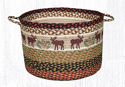 Earth Rugs 38-UBPLG019MP Basket, 11 X 17, Multicolored