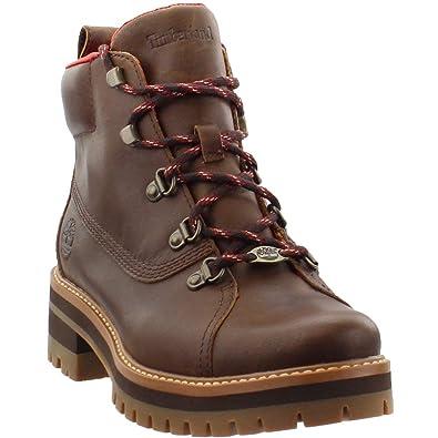"""483a782a110 Timberland Women's Courmayeur Valley 6"""" Waterproof Hiker Boot Dark  Rubber ..."""