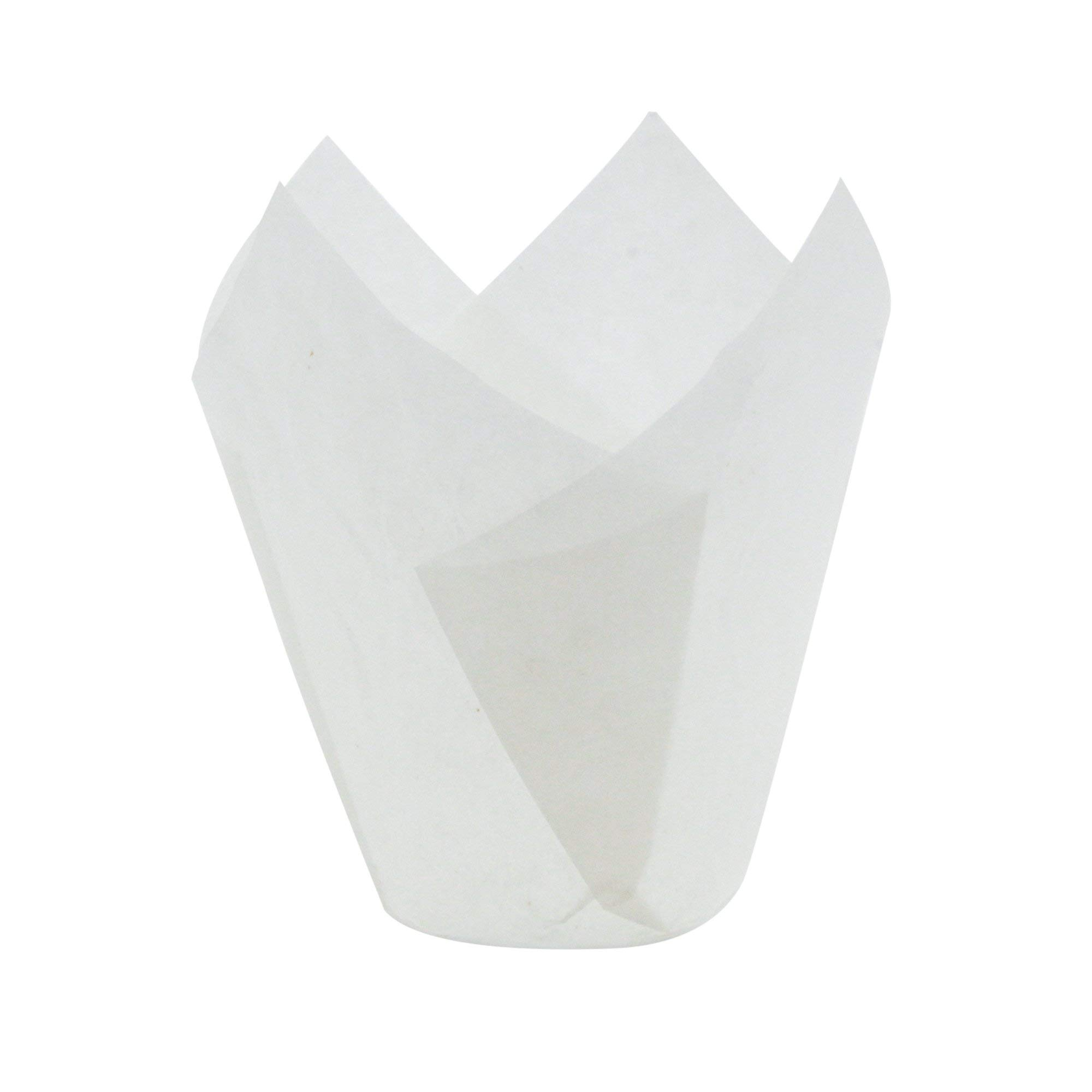White Tulip Baking Cups, Mini Size, Pack of 250 by Ecobake (Image #2)