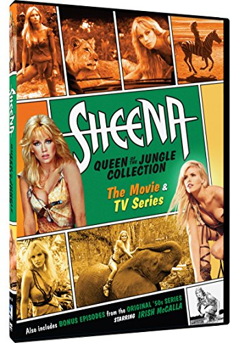 DVD : Sheena: Queen of the Jungle Collection: The Movie & TV Series (6 Disc)