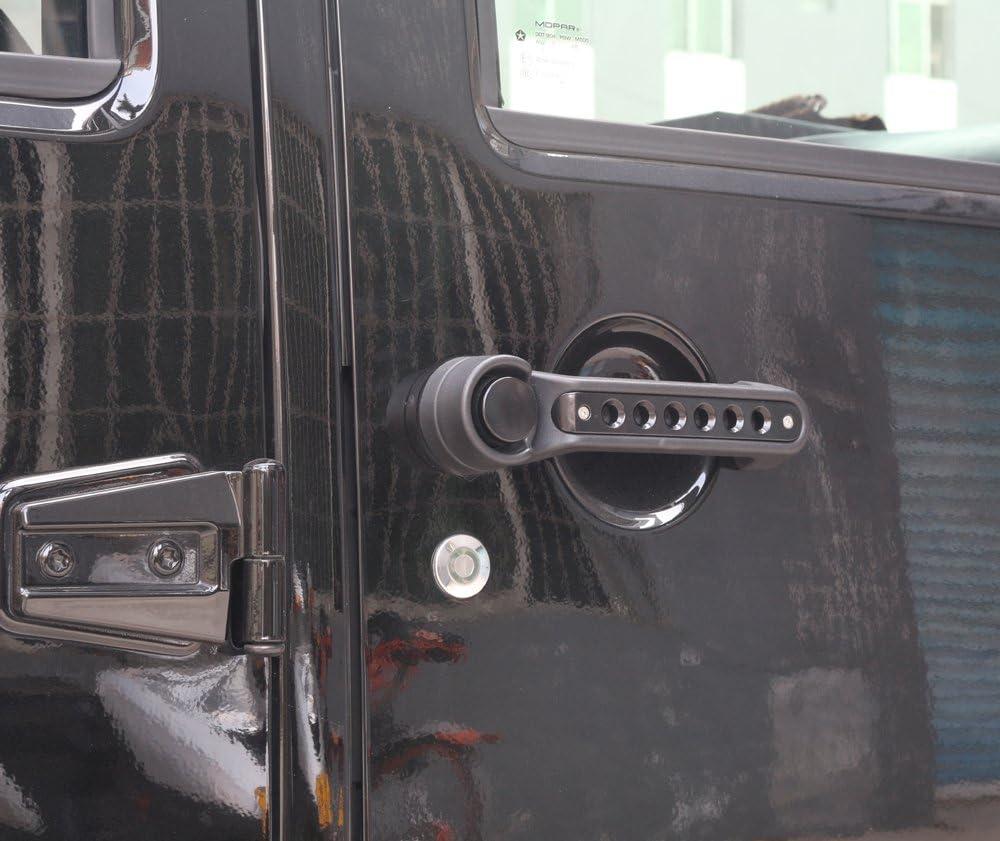 Athiry Red 5PCS Grab Handle Inserts Cover Door Handle for Jeep Wrangler JK Unlimited 4Door 2007-2017 Jeep Wrangler Door Handle Inserts