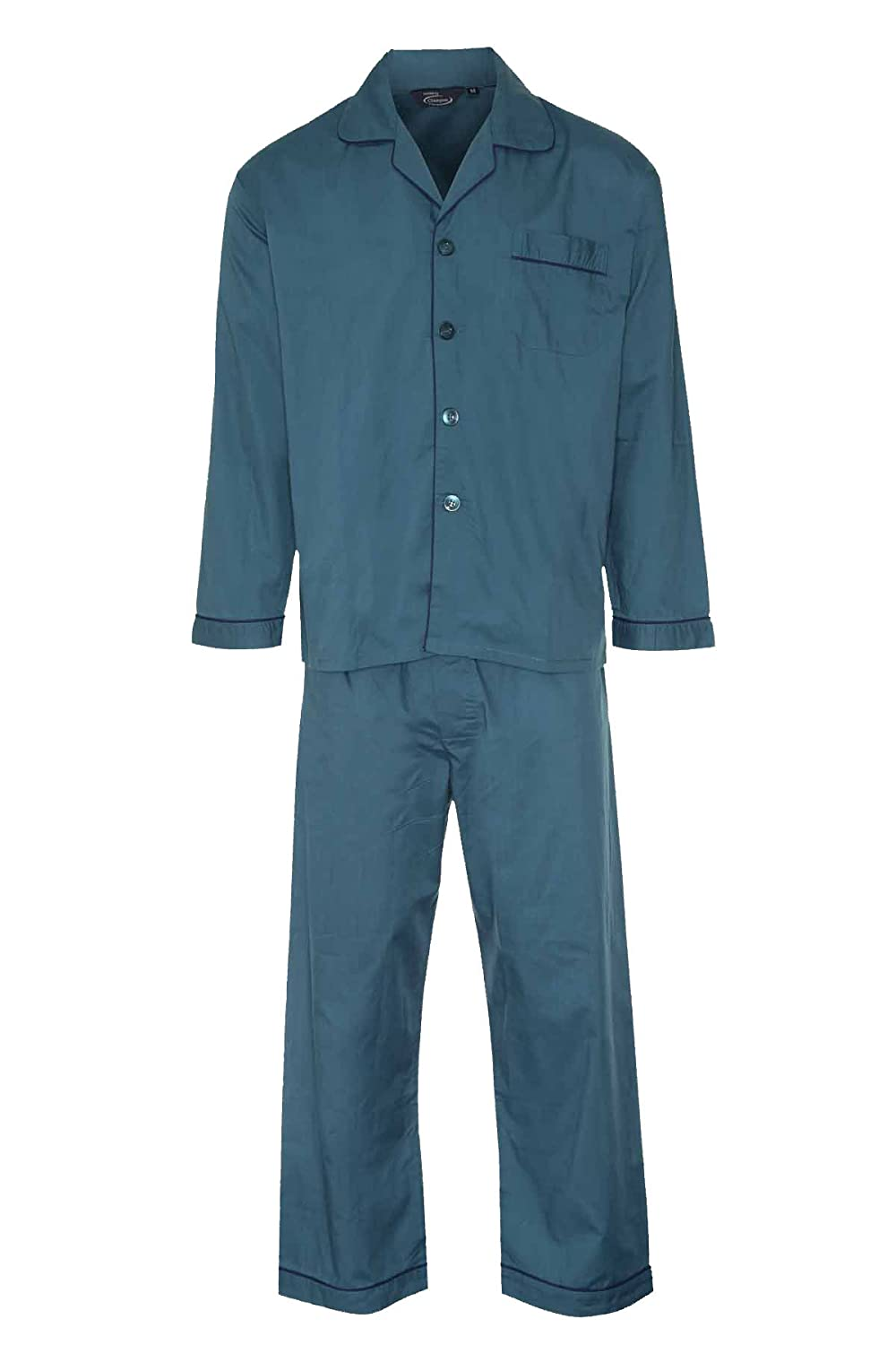Champion Mens Cotton Blend Button Front Pyjama Set Nightwear Lounge Wear Pajama MPYJ-MASTER-CHAMPION