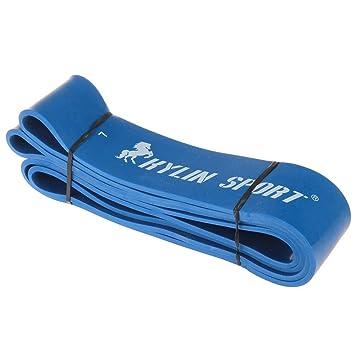 TOMOUNT Bleu Bande Résistance Elastique Musculation Yoga GYM Exercice  Fitness  Divers  32ad15991cc