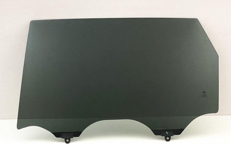 NAGD Driver Left Side Rear Door Window Door Glass Compatible with Infiniti QX60 2014-2020 JX35 2013-2014 Models