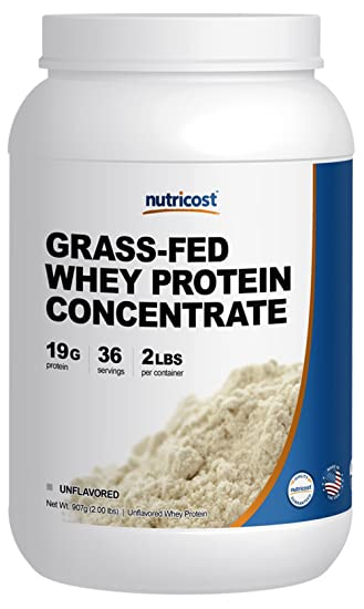 Grass fed undenatured whey protein concentrate