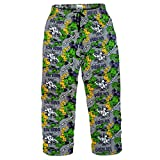 Marvel Comics The Incredible Hulk Mens Lounge Pants Pajama Bottoms Grey Small