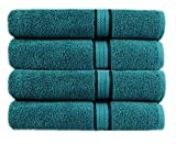 Our 100% pure ringspun cotton oversized and extra large bath towels are woven on state of the art European luxury towel looms. These bath towels are highly absorbent and will last a long time. Ideal for everyday use, these are highly versatile and ca...