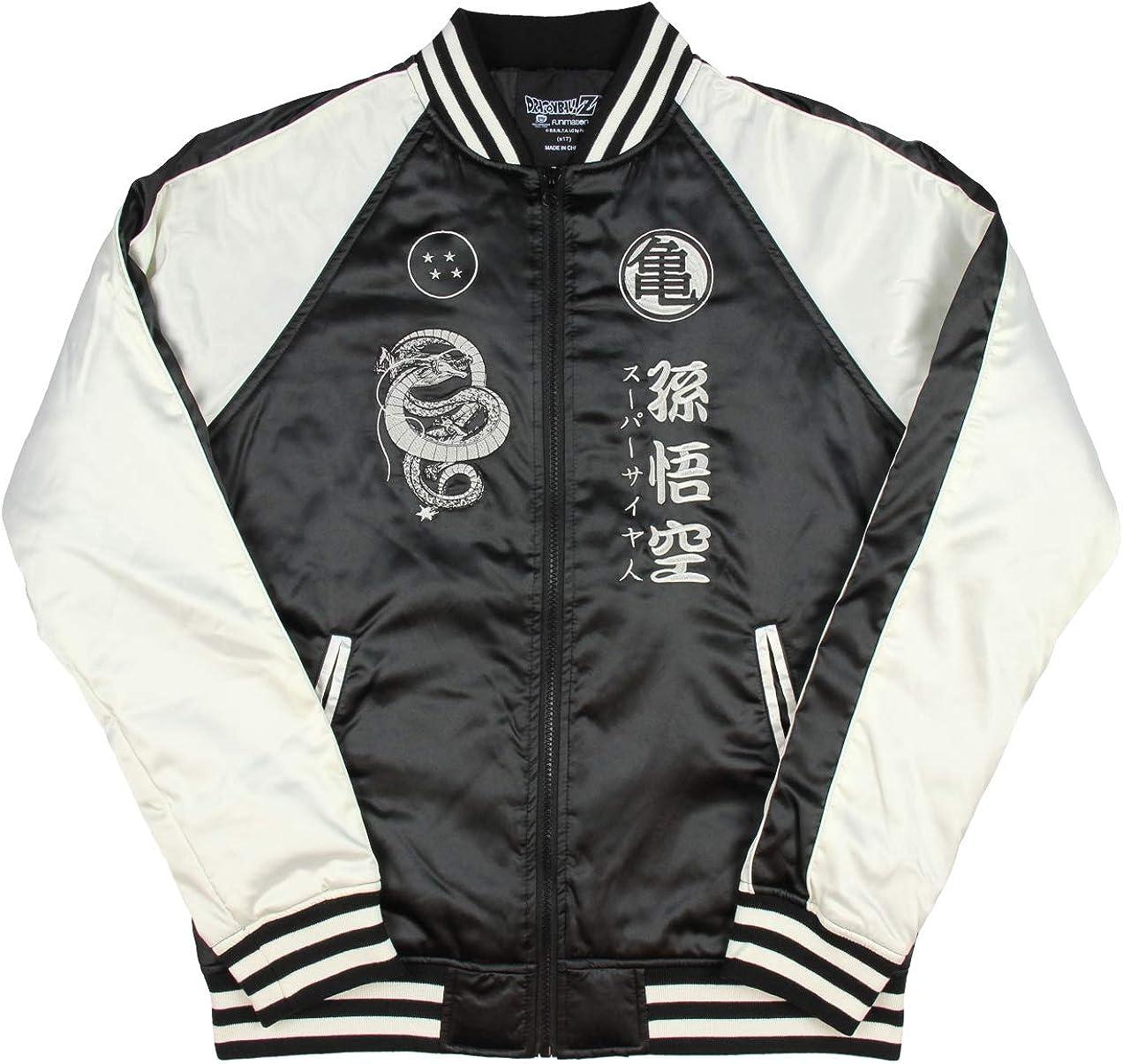 Reservoir Kame Dragon Ball Z Mens Varsity Jacket