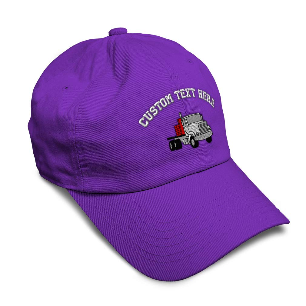Custom Soft Baseball Cap Flatbed Tandem Embroidery Dad Hats for Men /& Women
