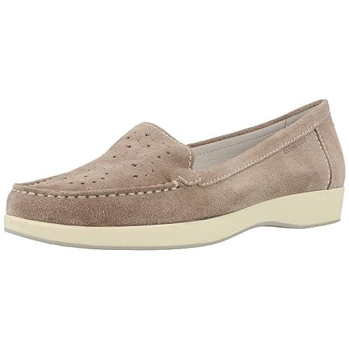 Mocasines para Mujer, Color marrón, Marca STONEFLY, Modelo Mocasines para Mujer STONEFLY 106168 Marrón: Amazon.es: Zapatos y complementos