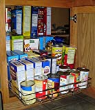 72 kitchen pantry cabinet - JA Marketing Expandable Chrome Plated Cabinet Pull Out Shelf