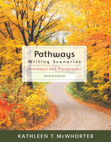 Pathways: Writing Scenarios