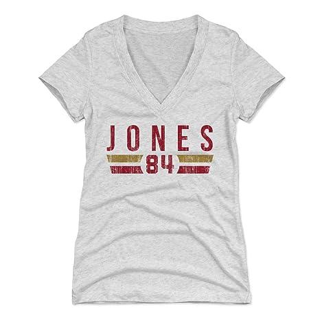 f4e074fbf 500 LEVEL Brent Jones Women s V-Neck Shirt Small Tri Ash - Vintage San  Francisco