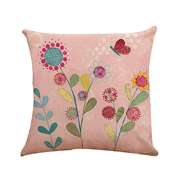 Amazon.com: iYBUIA 17.72 X 17.72 Inch Throw Pillow Cover ...