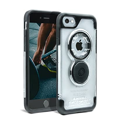 Rokform Crystal Series iPhone 8 Case / iPhone 7 Case Slim Protective  Magnetic Case with twist lock & universal Magnetic Car Mount (Clear)