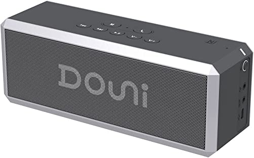 Douni A7 20W Portable Bluetooth Wireless Stereo Speaker with Enhanced Bass, LED Button Backlighting,Support Handsfree Calling, NFC