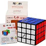 Cuberspeed New batch Qiyi WuQue 4x4 Black Magic cube MoFangGe Wuque 4x4 Black Speed cube